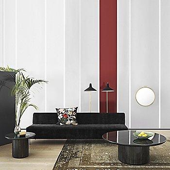 Rondaccio Circular Mirror with Grossman G-10 Floor Lamp
