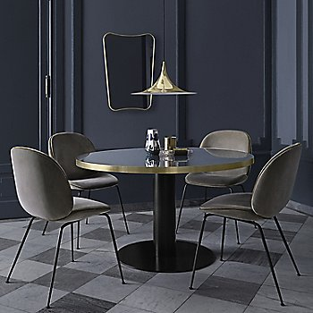 Pictured with the Beetle Dining Chair and the Gubi 2.0 Round Dining Table (sold separately)