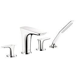 PuraVida 4 Hole Roman Tub Faucet Set