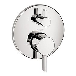 S Thermostatic Trim with Volume Control & Diverter