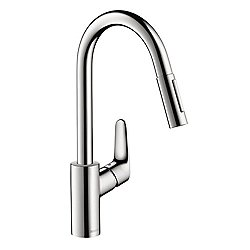 Focus 2-Spray HighArc Kitchen Faucet