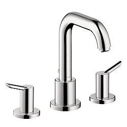 Focus S 3 Hole Roman Tub Faucet Set