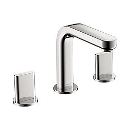 Metris S Widespread Faucet with Full Handles