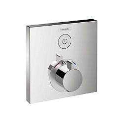 ShowerSelect Square Thermostatic 1 Function Trim