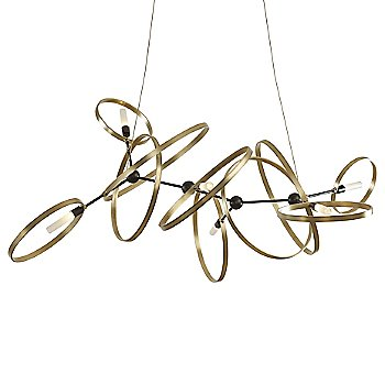 Shown in Soft Gold Ring finish