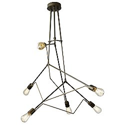 Divergence Pendant Light