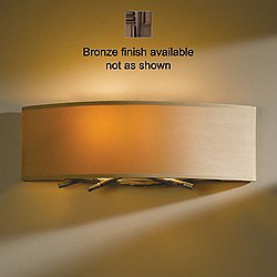 Brindille Wall Sconce - 207660 (Bronze/Doeskin Micro-Suede) - OPEN BOX RETURN