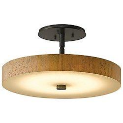 Disq LED Semi-Flushmount (Bronze/Large) - OPEN BOX RETURN