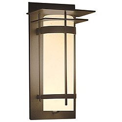 Banded Coastal Outdoor Wall Sconce(St/Bze/S)-OPEN BOX RETURN