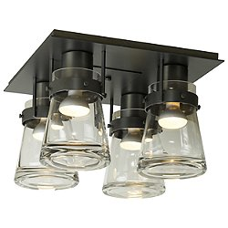 Erlenmeyer 4 Light Semi Flush Ceiling Light