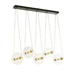 Otto Sphere 5 Light Multipoint Pendant Light