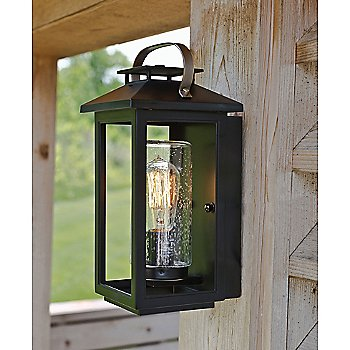 Atwater Outdoor Wall Sconce / in use