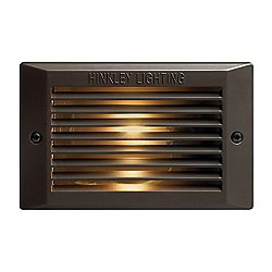 Louvered LED Step Light