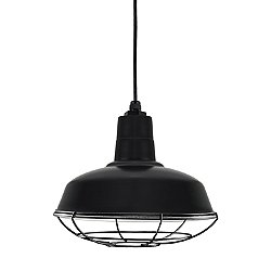 Warehouse Shade Pendant Light with Wire Guard
