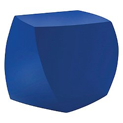 The Frank Gehry Furniture Collection, Left Twist Cube (Blue) - OPEN BOX RETURN