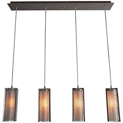Downtown Mesh Linear Suspension Light