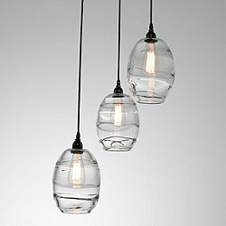 Ellisse Multipoint Pendant Light