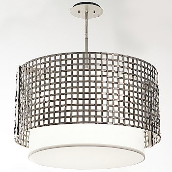 Metallic Beige Silver finish / 24 Inch size