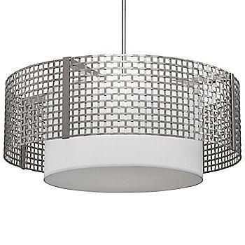 Metallic Beige Silver finish / 36 Inch size