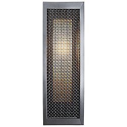 Mesh Outdoor Double Box Wall Sconce