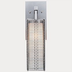 Outdoor Downtown Mesh Wall Sconce