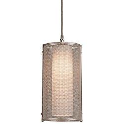 Uptown Mesh Cord-Suspended Mini Pendant Light