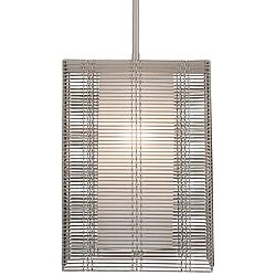 Downtown Mesh Oversized Pendant Light