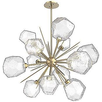 Bronze glass / Gilded Brass finish