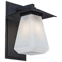 Beacon Outdoor Wall Light with Cap