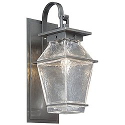 Landmark Outdoor Wall Light with Shepard's Hook