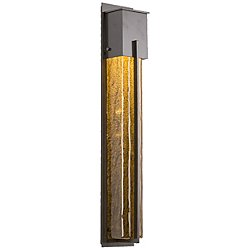 Outdoor XL Square Wall Light with Metalwork