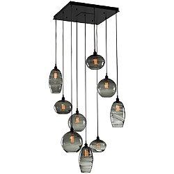 Misto Square Multi Light Pendant Light