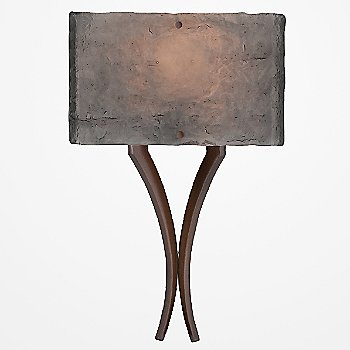 Oil Rubbed Bronze finish / Smoke Granite / illuminated