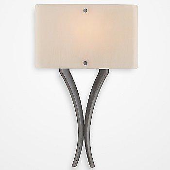 Satin Nickel finish / Ivory Wisp / illuminated