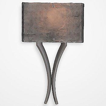 Satin Nickel finish / Smoke Granite / illuminated