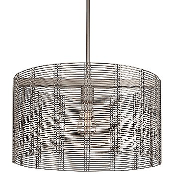 None, Exposed Shade / Metallic Beige Silver finish