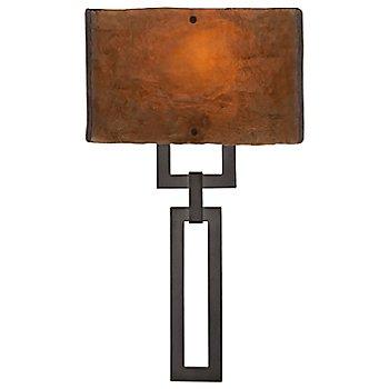Oil Rubbed Bronze finish / Bronzed Granite shade
