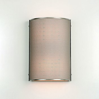 Frosted Glass / Metallic Beige Silver finish