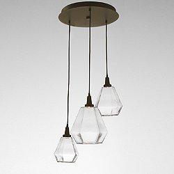 Hedra LED Multi-Light Pendant Light
