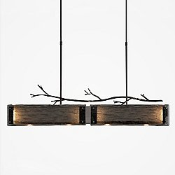 Ironwood LED Linear Suspension Light