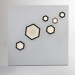 Hexagon LED Wall Light