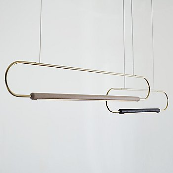 Brass / Oak White / 6 ft with Brass / Black / 3 ft / Horizontal Position / in use