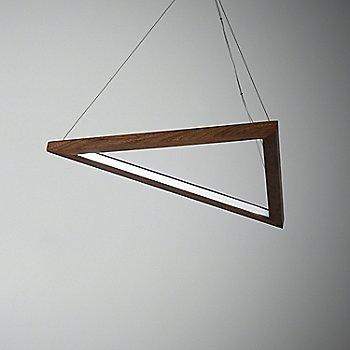 Triangle LED Pendant Light