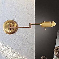 Pharmacy Wall Sconce No. 8170 (Aluminum/Brass) - OPEN BOX
