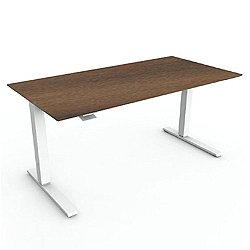 Float Height-Adjustable Desk, Veneer