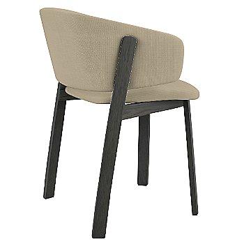 Grey Oak stain / Nubia 020 fabric
