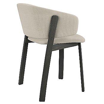 Grey Oak stain / Nubia 061 fabric