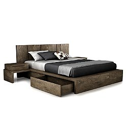 SILK Storage Bed, King