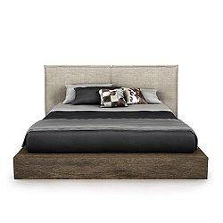 SILK Upholstered Bed, King