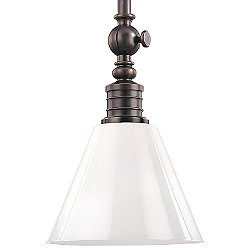 Darien Pendant Light (White/Bronze/Medium) - OPEN BOX RETURN